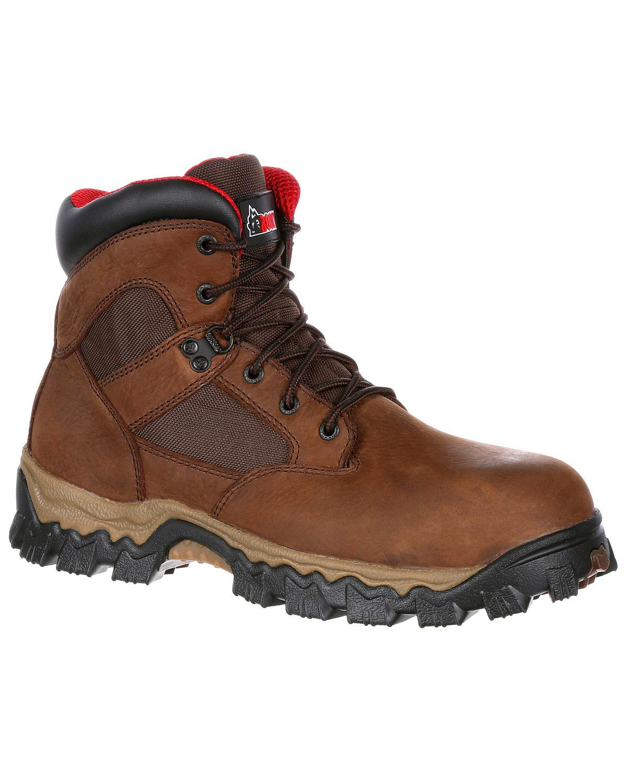 Rocky para hombre Alphaforce Waterproof 6  Bota-Seguridad Toe-RKK0166