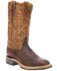 Men's Lucchese Handmade Smooth Leather Cowboy Boots