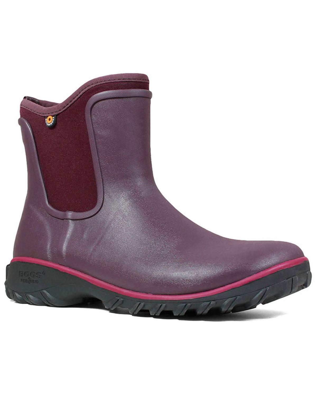 perfezionare Bogs Donna  Sauvie Waterproof Slip-On avvio - Round Toe Toe Toe - 72203-609  ordina adesso