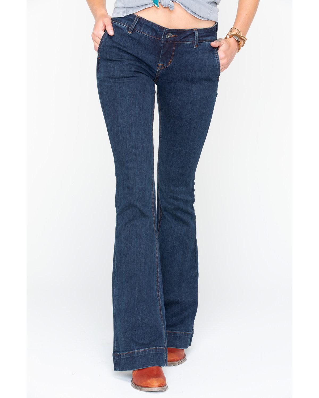 Grace In LA Women's Easy Fit Trouser Jeans - EL9241