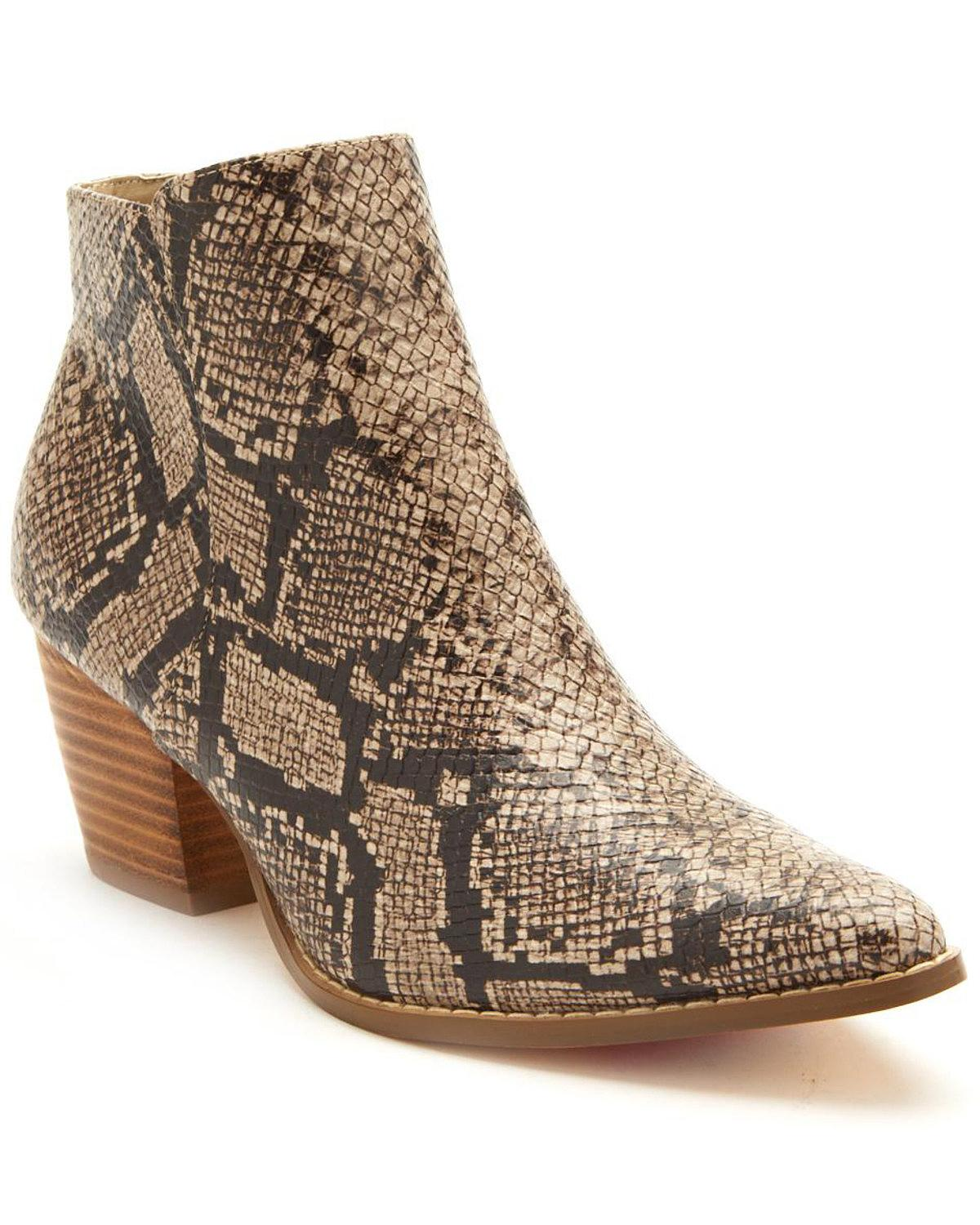 Coconuts By Matisse Wouomo Astoria Snake Print Fashion avvioies Medium Toe Taupe