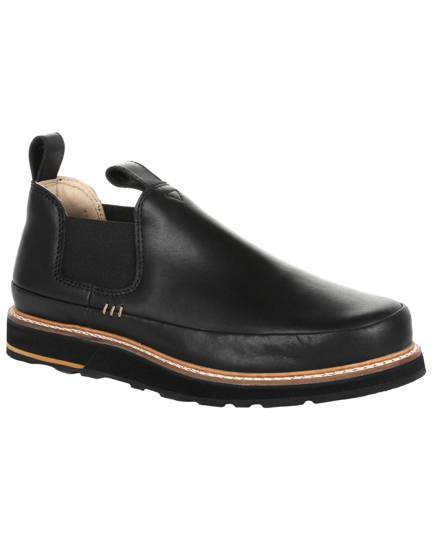 Bota De Hombre Pequeño Lote Georgia Romeo Zapatos-Punta rojoonda-GB00295