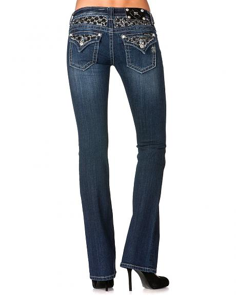 miss me lace inset jeans extended sizes sheplers