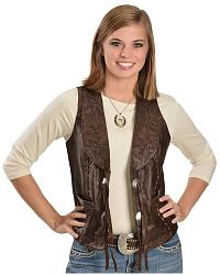 Women's Leather Vests