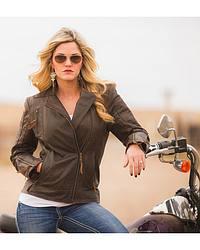 Women's Biker Jackets & Apparel