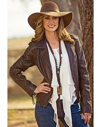 Women's Leather Coats & Jackets