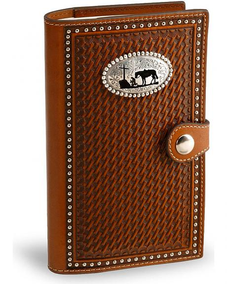 Cowboy Prayer Leather Bible Cover Sheplers