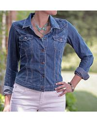 Women's Denim Jackets & Vests