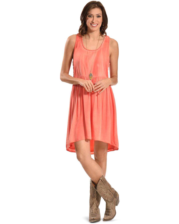 Swan Women's Clemence Dress - BD161376 P pink