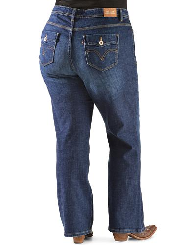 91e7b41fa354a Levis 580 Women s Curvy Bootcut Jeans - Plus Sizes